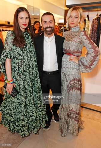 attends the Giambattista Valli London store opening on Sloane Street on June 14, 2018 in London, England.