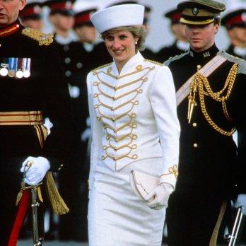 diana navy bianco