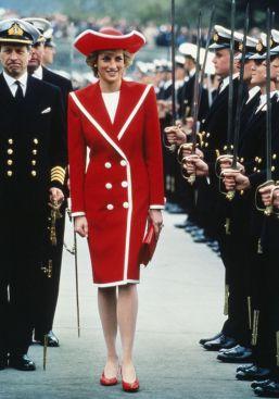 diana navy rosso