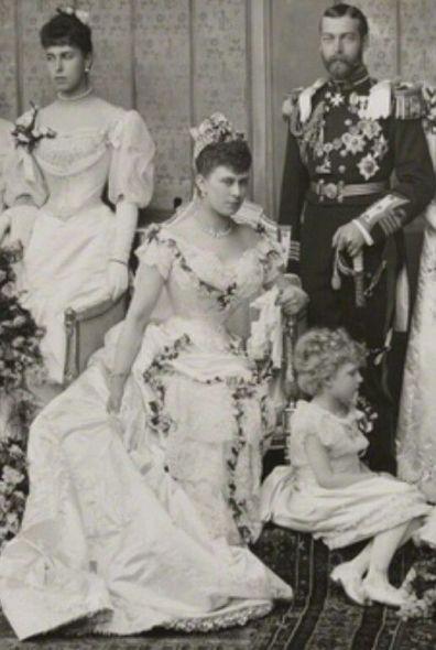 george mary wedding 1893