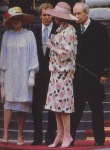 grace diana wedding