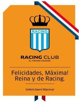 racing auguri a maxima