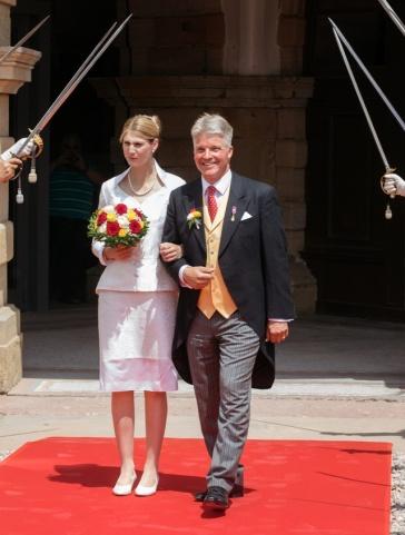 shock stéphanie saxe matrimonio