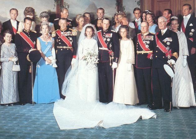 Harald Sonja wedding