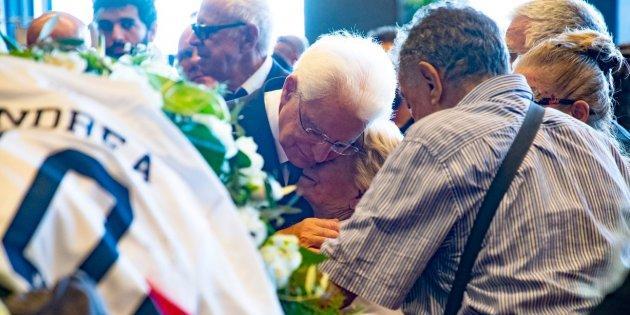 mattarella funerali genova