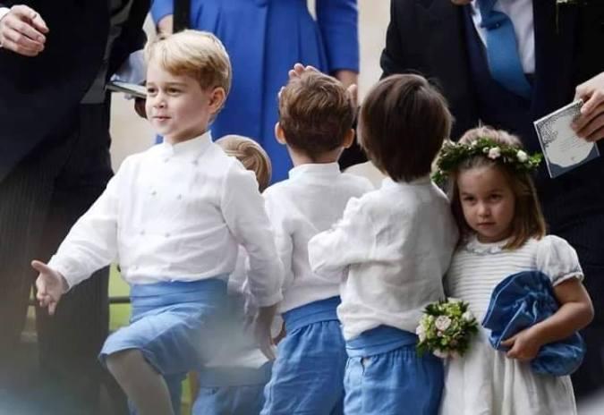sophie carte wedding george