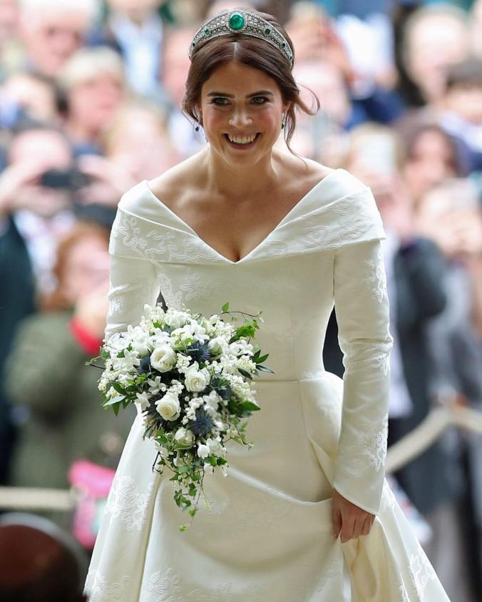 eugenie wedding bouquet