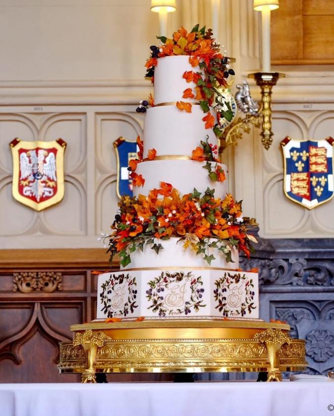 eugenie wedding cake