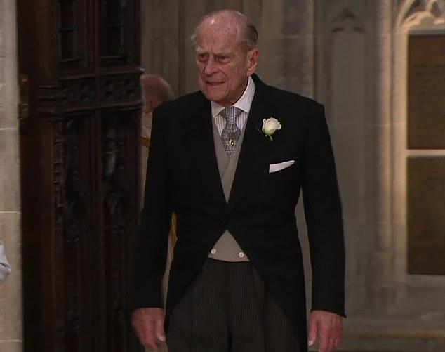 eugenie wedding nonno