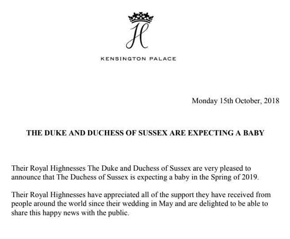 harry meghan baby 2