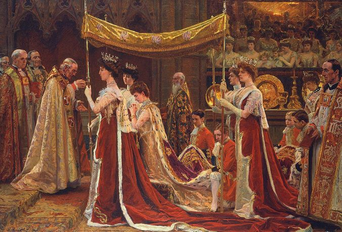 Alexandra_at_the_Coronation_of_Edward_VII