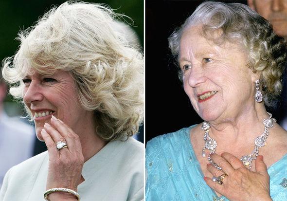 Camilla Queen Mom diamond ring