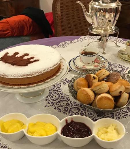 Charles afternoon tea cake