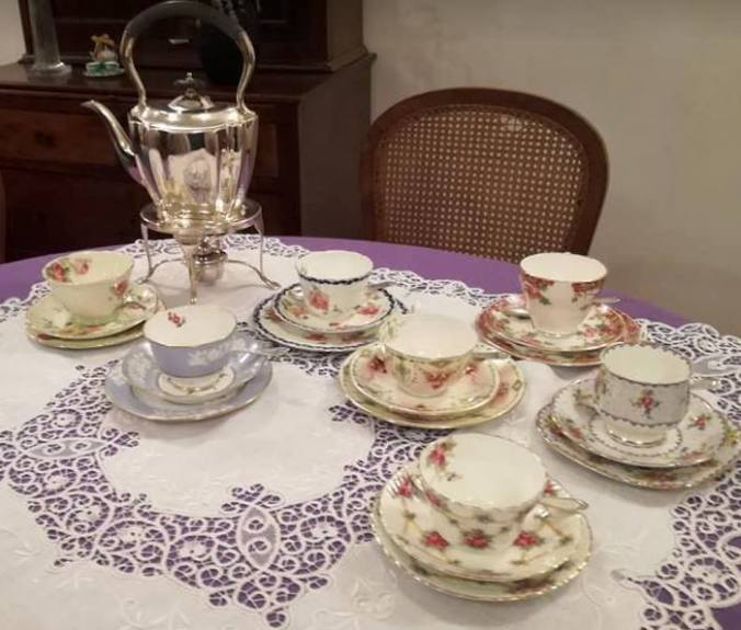 charles afternoon tea table