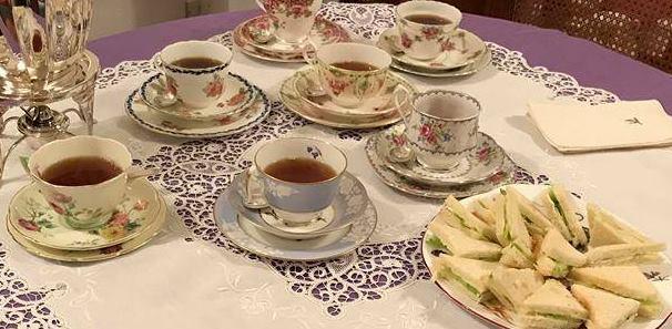 Charles afternoon tea