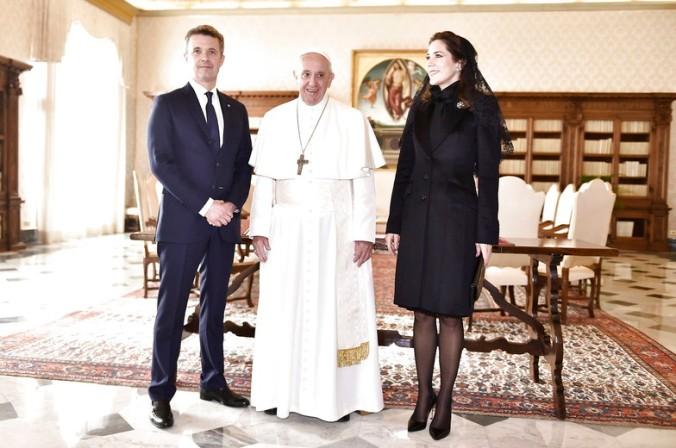 Kronprinsparret i Rom, Kronprins Frederik, Kronprinsesse Mary, Kronprinsparret