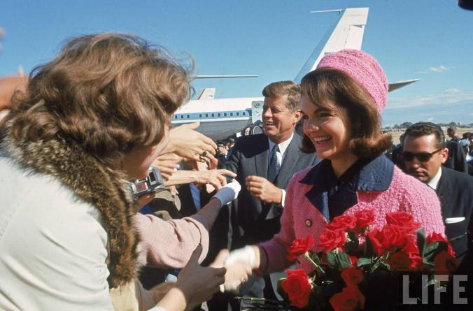 JFK & Jackie At Love Field (11-22-63)