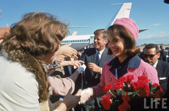 JFK & Jackie At Love Field (11-22-63)
