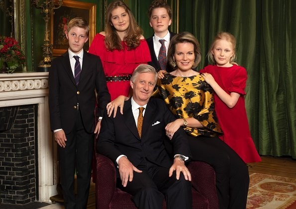 belgian royal-family xmas