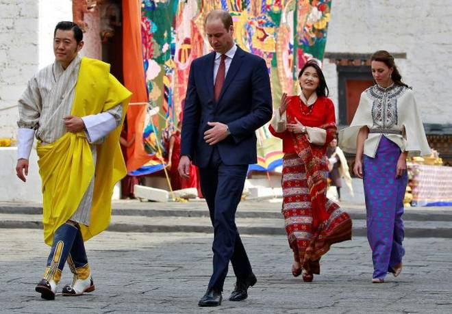 cambridges in bhutan