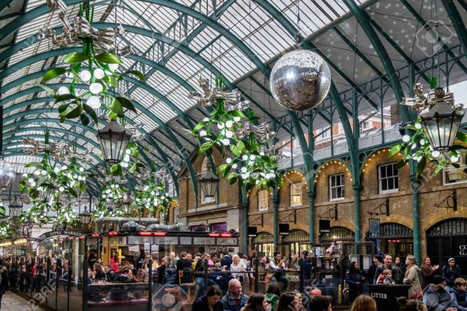 Christmas Decorations at Covent Garden
