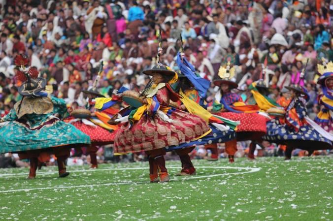 festa bhutan dance