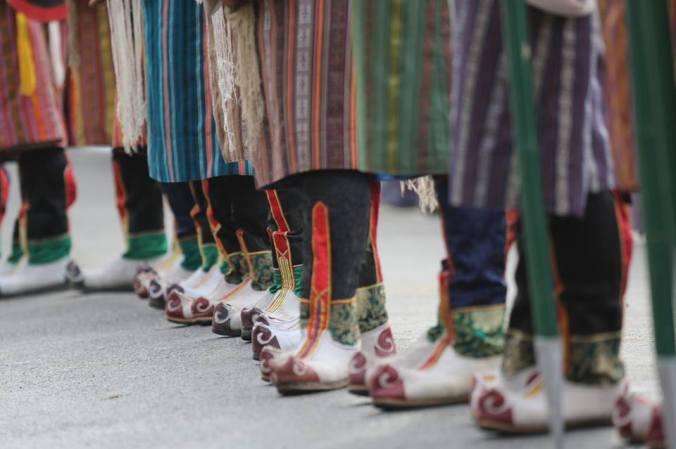 festa bhutan gli stivali