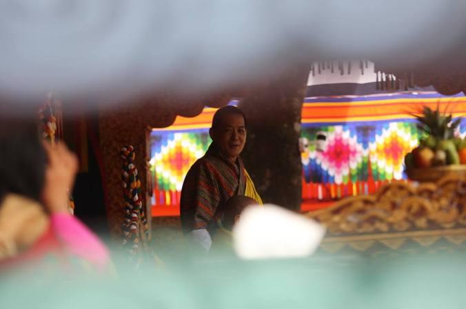 festa bhutan hm fourth druk gyalpo