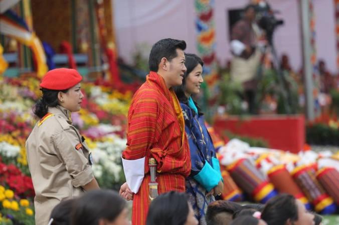 festa bhutan i sovrani