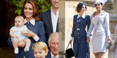 polka dot kate middleton wedding guest