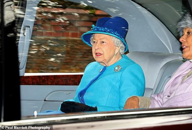 queen sandringham 27-1-19