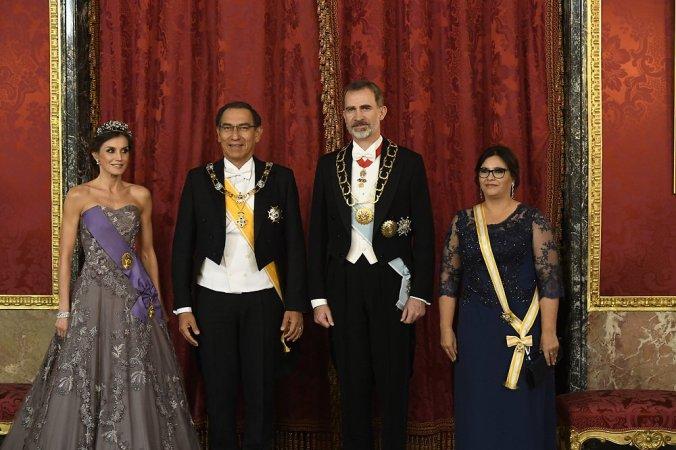 letizia visita presidente perù