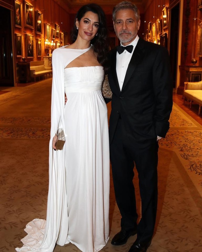 amal buckingham palace
