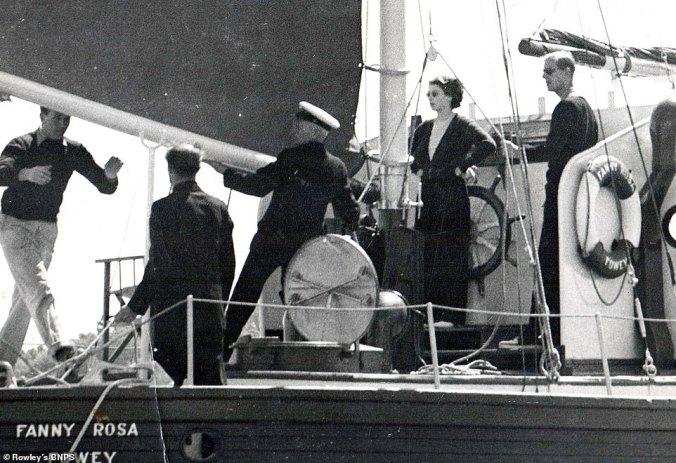 daphne du maurier yacht