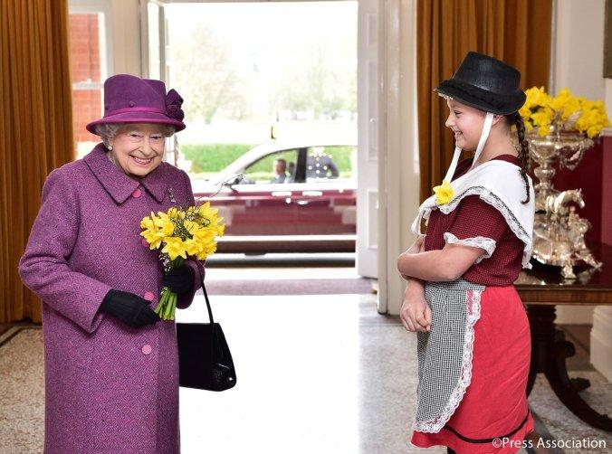 queen st david's day