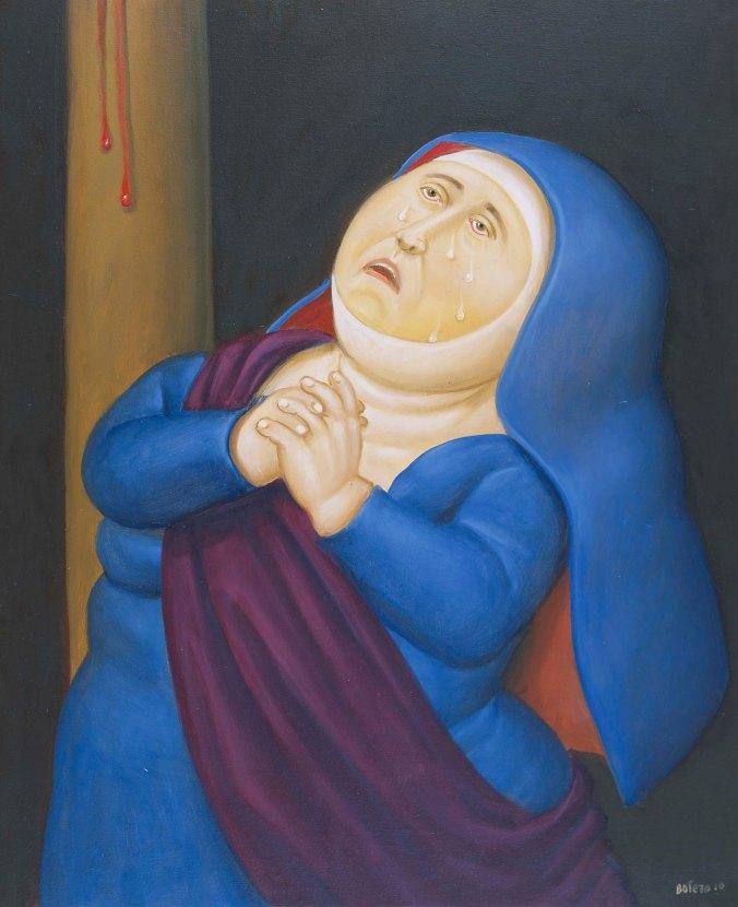 Botero Madre afligida
