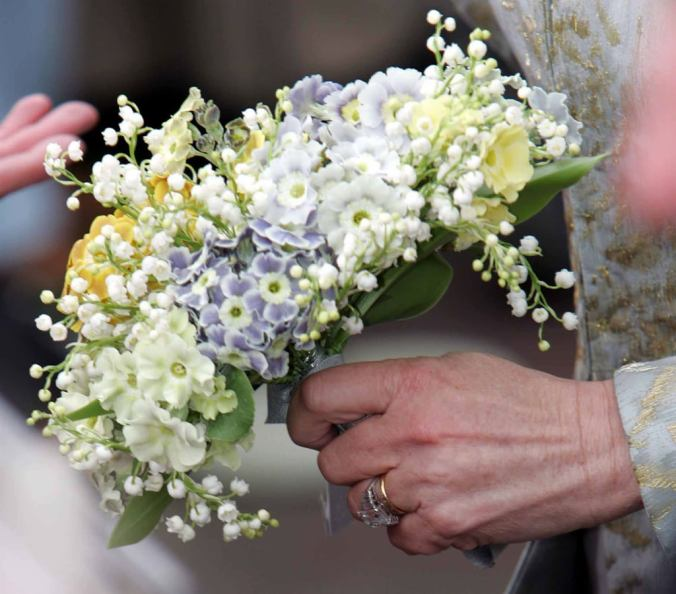 camilla wedding bouquet