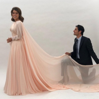 https://www.instagram.com/p/BvZgXEFhyYk/ Zac Posen/Instagram Princess Eugenie