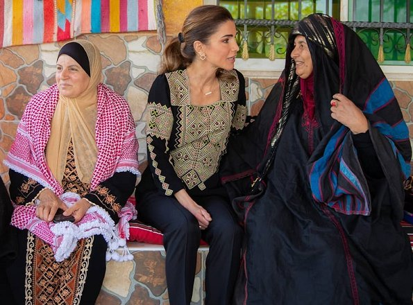 Queen-Rania ethnic