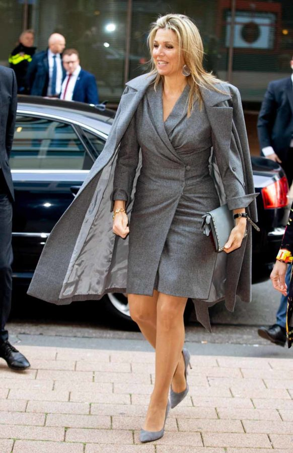 Queen Maxima visit to Fotomuseum, Rotterdam, Netherlands - 02 Apr 2019