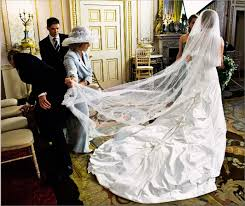 autumn phillips wedding dress back