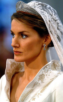 letizia wedding tiara