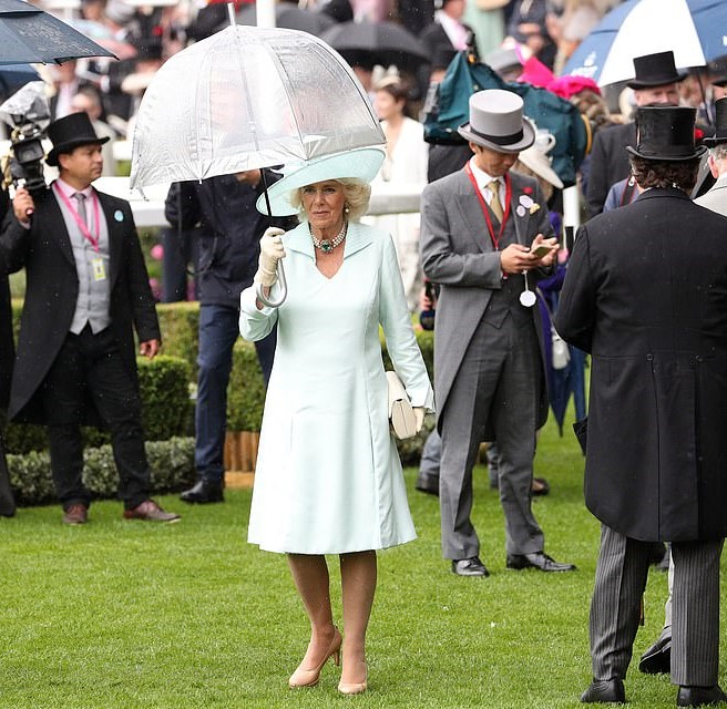 ascot 19 2nd day Camilla