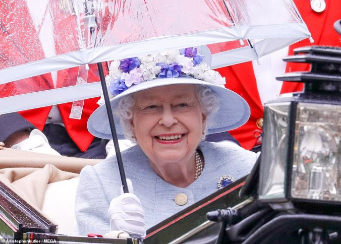 ascot 19 2nd day the queen