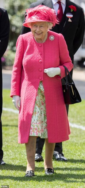 ascot 19 4th day the queen