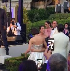 charlotte dimitri wedding party