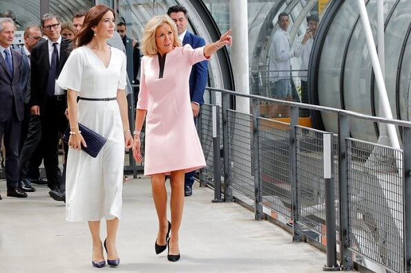 Crown-Princess-Mary-and-Brigitte-Macron-1