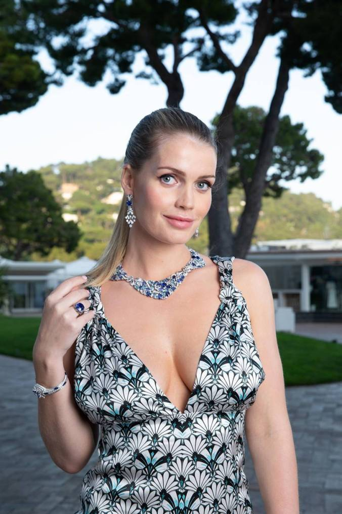 kitty spencer bulgari capri