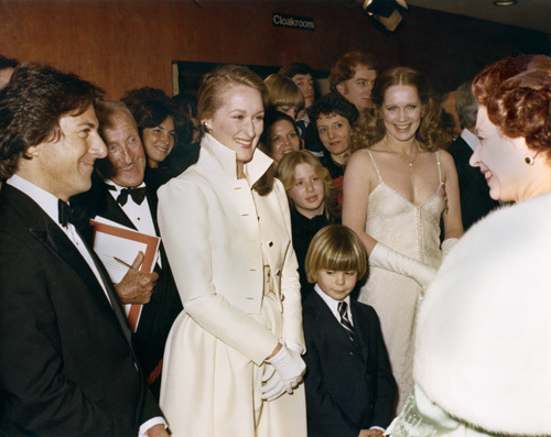 the queen and Meryl