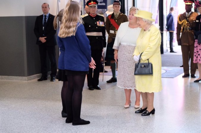 the queen in scotland